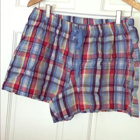 c2b4c26dfe7e Nwt Lane Bryant Cacique Plaid Pajama Pj Shorts